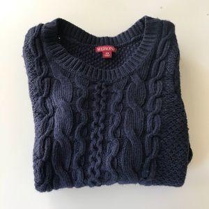 Merona Navy Blue Sweater XS