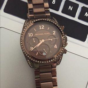 Michael Kors Chocolate Espresso Watch