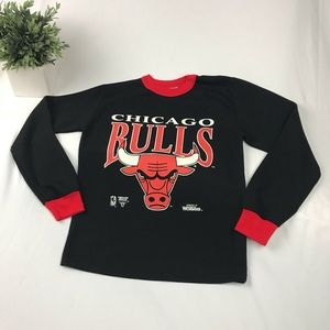 Vintage Chicago Bulls Thermal Long Sleeve