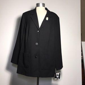 Black blazer - NWT