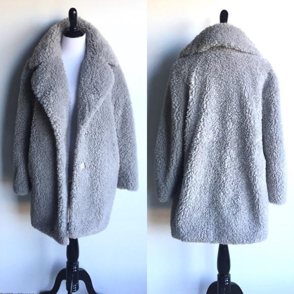 2cf9ee3086c Kensie Jackets   Blazers - Kensie Teddy Bear Notch collar Faux Fur Coat