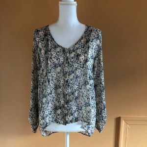Anthropologie Pins and Needles blouse Medium