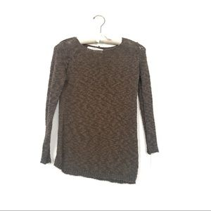 Zara knit cotton sweater