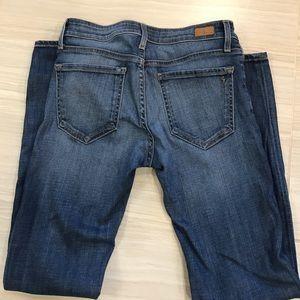 Joie Mid-Rise Skinny jean Size 26 Aegean cut