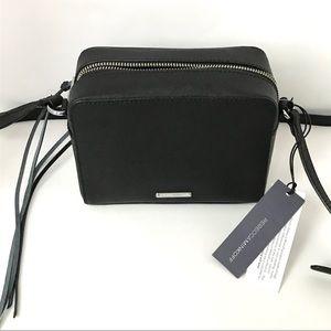 New Rebecca Minkoff Black crossbody camera bag