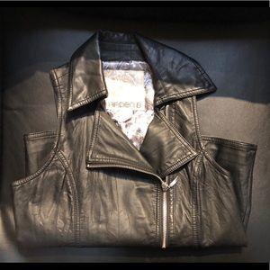 Arden B Faux Leather Vest