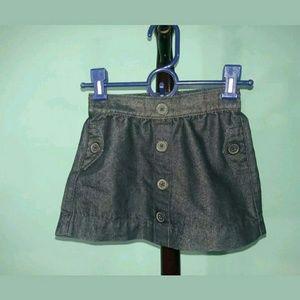 Okie Dokie Girls Denim Skirt 4Y