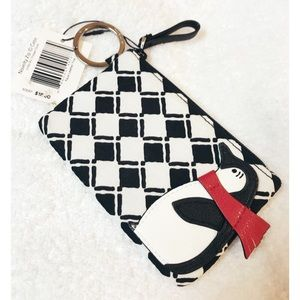 Vera Bradley • NWT Penguin Keychain Wallet