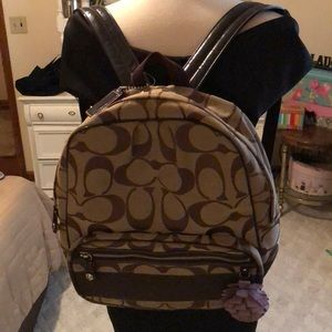 Authentic Coach backpack. Worn ONCE!!