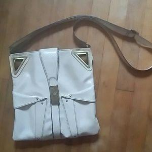 Cream colored Jessica Simpson cross body bag