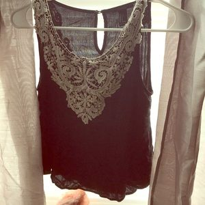 Forever 21 embroidered blouse