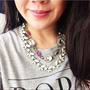 🎉SALE💓NWT T&J Designs white Ivy necklace