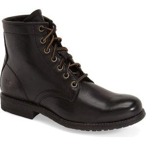 FRYE Lace-Up Combat Boots