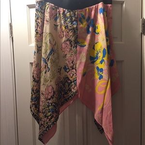 Betsey Johnson Silk Skirt Size 10 - never worn