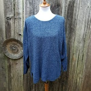 Vintage Oversized Heather Knit Sweater