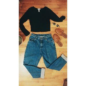 Vintage Lee High Waisted Jeans