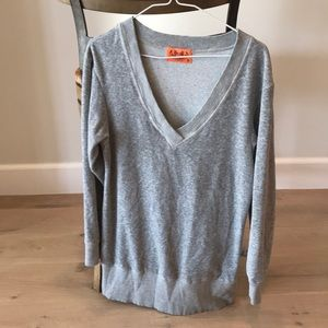 Juicy Couture Gray 3/4 Length Sweater