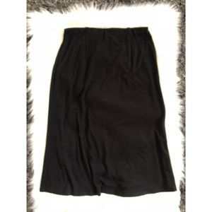 Eileen Fisher A-Line Skirt Black S