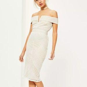 Beautiful lace midi dress