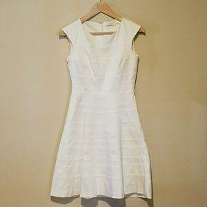 Calvin Klein White Dress Size 2 Cotton