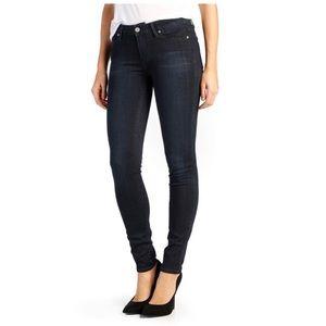 NWT Paige verdugo denim skinny fit dark jeans