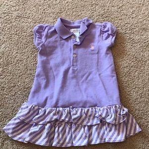 Ralph Lauren Purple Dress Size 9 months