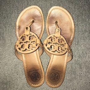 "TORY BURCH ""Miller"" thong sandal"