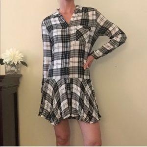 Sam Edelman Plaid Dress Size 4