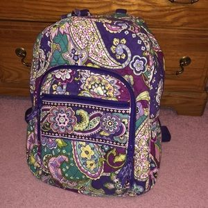 Large Vera Bradley backpack