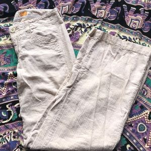 Pilcro & the letterpress linen pants