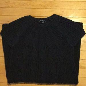 Black sweater dress by Gap