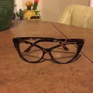 Cat eye fashion glasses