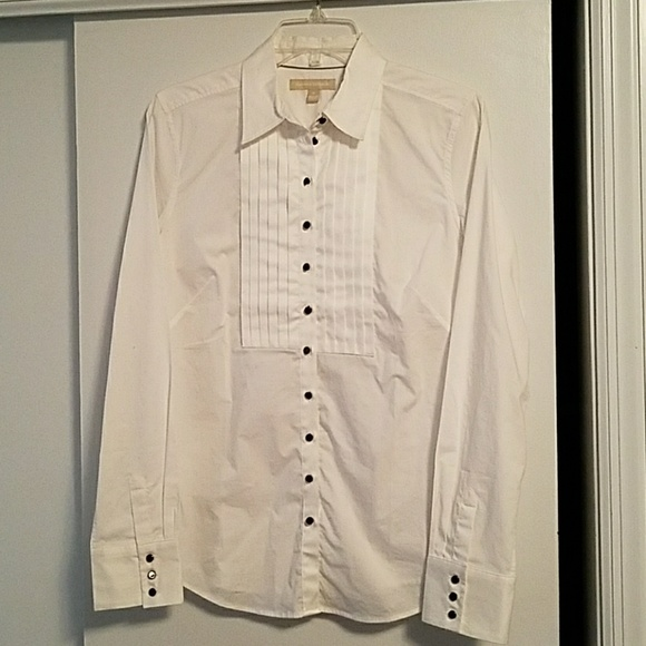 newest selection enjoy lowest price top-rated latest banana republic women's tuxedo shirt