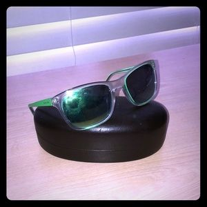 Mirrored green Michael Kors sunglasses