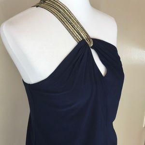 {Bisou Bisou} One Shoulder Dress 