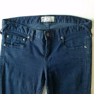 Free People wide leg jeans size 27