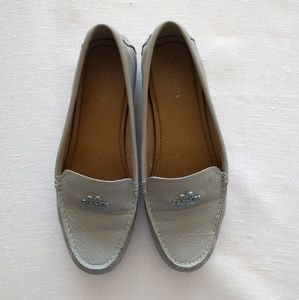 Beige Coach Loafers size 7.5