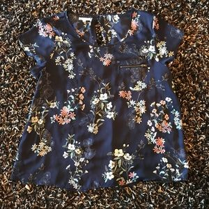 Maurices size XL 100% polyester blouse