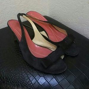 Vintage Kate Spade Suede Size 8 Sling back 👡