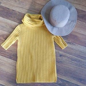 2T Mustard Sweater Dress