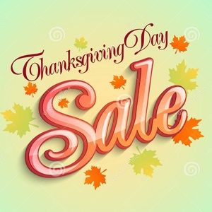 1 DAY ONLY THANKSGIVING DAY 🦃 SALE 4+\ 30% OFF
