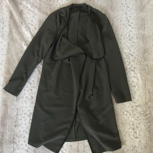 Army green duster
