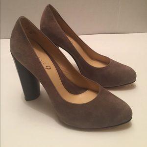 Boutique 9 - leather suede pumps