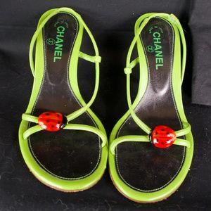Vintage Chanel Ladybug Heels