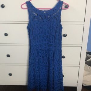 Lilly Pulitzer Blue Lace Dress size small