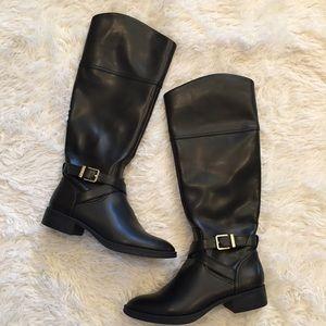 Sam Edelman Parker Black Riding Boots