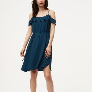 NWT LOFT ANN TAYLOR Cold Shoulder Dress