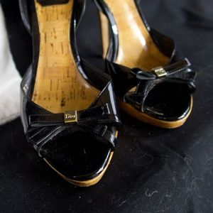 Christian Dior Heels Black