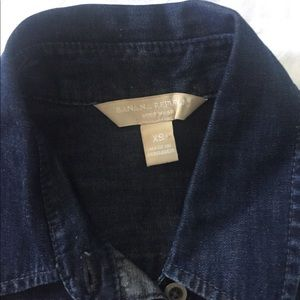 Banana Republic Denim Blue Button Down Shirt