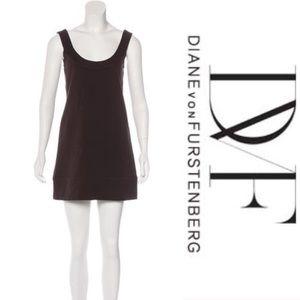 DvF Augustine Dress - Chocolate, Size 4